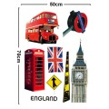 All about London Wall Sticker
